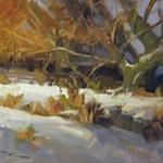 "A Daily Paintworks Affordable ArtByte Tutorial - ""Painting Oils like Watercolours"" - © Richard Robinson Painting Lessons, Painting Tips, Art Lessons, Happy Paintings, Snow Scenes, Watercolour Tutorials, Fine Art Gallery, Art Techniques, Art Tutorials"