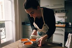 In our newest column, intrepid photographer Eileen W. Cho takes us to dinner in the warm inviting home of Parisian pastry chef Inviting Home, Pastry Chef, Food Preparation, Parisian, Seafood, Latest Stories, Creme Brulee, Dinner, Warm
