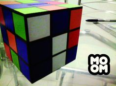 Cofre Cubo Mágico Produzido por MOOMCustom Mais detalhes https://www.facebook.com/MoomCuston