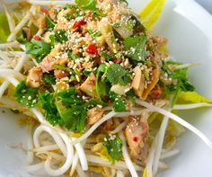 Craving a Thai chicken salad but avoiding peanuts? Weused almond butter and coconut aminosas substitutes to create thisPaleo-friendly'peanut butter' salad dressing that doesn't contain peanuts or soy sauce. Make your own and use it to top salads or mix in a peanut-flavored stir fry that is still 100percentPaleo. Image Source: Flickr, Beck.
