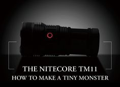 Nitecore TM11 2000 Lumen Flashlight