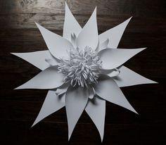 paper flower large by balushka on Etsy, $70.00