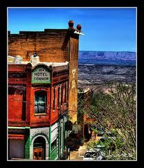 Small biker town. Jerome, AZ. This place was amazing! Loved the views! I would go again.