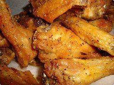 lemon garlic pepper wings - change out vegetable oil for coconut oil and its whole30 compliant!