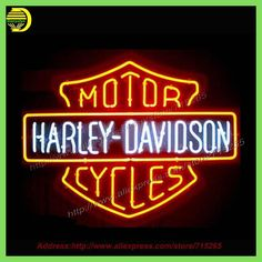 "NEW HARLEY DAVIDSONLIGHT SIZE 19""X15"" GLASS NEON SIGN LIGHT BEER BAR PUB SIGN ARTS CRAFTS GIFTS SIGNS Publicidad Light Sign VD"