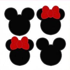 freebie minnie mouse head svg silhouette pinterest disney