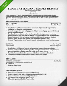 resume format for cabin crew Excellent Cabin Crew Resume Sample With No Experience 77 About