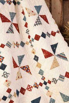 Red-White-Blue Pinwheel
