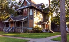 The Sternberg Mansion in Wichita, Ks. Built in 1886 for sale as it sits for $74,900. submitted by : http://finding-my-home.tumblr.com/