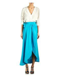 Cynthia Rowley - Long Wrap Skirt | Bottoms by Cynthia Rowley