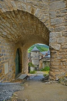 https://flic.kr/p/eE1dNA | The fortified medieval village of Sévérac-le-Château in southern France | Photographed at the village of Sévérac-le-Château in the Midi-Pyrénées region of southern France.