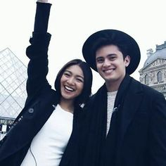 These two  #JaDine #JamesReid #NadineLustre
