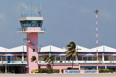 """Flamingo Airport Bonaire, gateway to """"home"""" The Places Youll Go, Places To See, Willemstad, Caribbean Netherlands, Beach Trip, Beach Travel, Aircraft Pictures, Beautiful Islands, Vacation Destinations"""