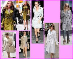 I Trench dei vip Trench, Vip, Shirt Dress, Shirts, Dresses, Fashion, Vestidos, Moda, Shirtdress