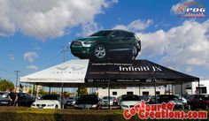 20' x 40' Giant Inflatable Car - Infiniti JX
