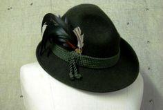 everyone needs a German alpine hiking hat