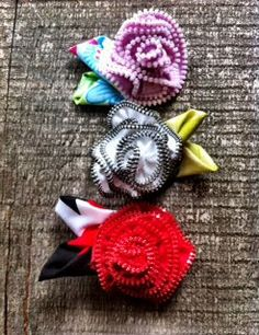Zipper Flower Tutorial Instant Download-schopný PDF by TheSewingLoft