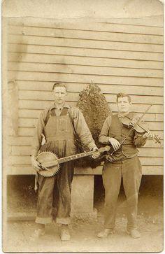 West Virginia MusiciansCharles Ballard Workman (with banjo) of Big Creek, Logan County, West Virginia, 1906-1925View Post