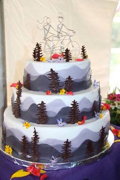 Above the Clouds Catering – Welcome to Food Heaven, Boston area custom catering Bicycle Cake, Tandem Bicycle, Wedding Cake Toppers, Wedding Cakes, Cupcake Cakes, Cupcakes, Adoption Day, Above The Clouds, Gorgeous Cakes
