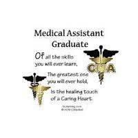 Medical Assistant Graduation Cap  Was Pretty Proud Of It  Cap