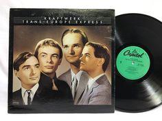 Kraftwerk Trans Europe Express Capitol SN-16301 Vinyl, Record, LP, Album