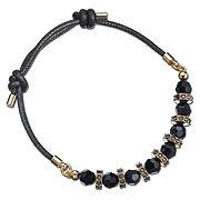 Swavoski Polly Jet Hematite Bracelet - £49 http://www.swarovski.com/Web_GB/en/1160522/product/Polly_Jet_Hematite_Bracelet.html