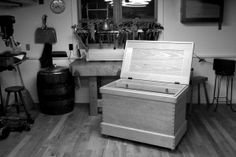 Chris Schwarz previews some of his upcoming woodworking projects, including a workbench and a chest. Perfect for the beginner woodworker and beyond.