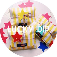 Lucky Dip by andsmile on Etsy, £10.00
