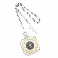 Charles Hubert 14k Gold-plated Two-tone Open Face Pocket Watch Jewelry Adviser Charles Hubert Watches. $117.00. Save 60%!