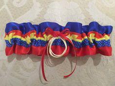 Superman Wedding Garter