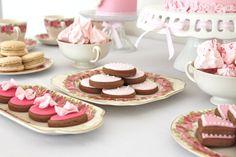 Ruffles & Pink Dessert Table