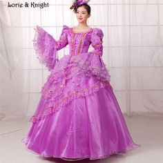 Marie Antoinette Inspired Masquerade Ball Gowns Princess Pageant Dress Purple Quinceanera Dress