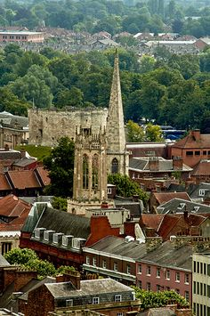 Cliffords Tower view - York, England.