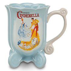 EEK! Love.   Disney Premiere Cinderella Mug | Disney Store