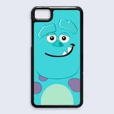 Monster inc sleepy Blackberry Z10 case $16.89 #etsy #Accessories #Case #CellPhone #BlackBerryZ10 #hardcase #plasticcase #hardcover #monsterinc #cyclops #monsterinccyclops #green #cartoon #disney #movie #mikewazowski #sleepy