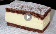 Felie de budincă și smântână – O rețetă ieftină și ideală pentru orice ocazie Hungarian Desserts, Hungarian Cake, Romanian Desserts, Hungarian Recipes, Köstliche Desserts, Delicious Desserts, Dessert Recipes, Yummy Food, Sweet Cookies