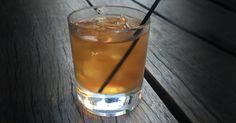 Brown & Orange 2.5 oz Old Overholt rye whiskey .35 oz Amaro Nonino Quintessentia 1 dash Angostura bitters 1 dash Orange bitters