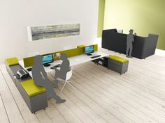 2-persons workstations | Desk systems | Work Up Bench | Martex. Check it out on Architonic