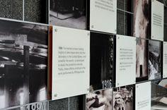 FM Global's Historic Timeline and Sprinkler Exhibit on Behance