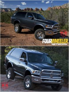 2017 Dodge Ram Charger Concept.    http://fourwheeler.com/moab-experience/2015/1504-ram-unveils-2017-ramcharger-concept-at-easter-jeep-safari-2015-in-moab/