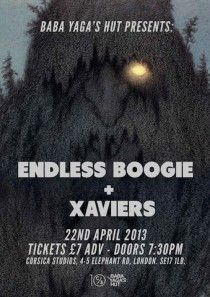 Live: Endless Boogie at Corsica Studios, London. April 22nd 2013.