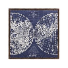 Harrington Framed Blue Map This Harrington wall art features a white raised map design over a deep blue background with a richly enhanced wood frame. Map Wall Art, Wall Art Decor, Room Decor, Framed Maps, Ferrat, Map Design, Fall Mantel Decorations, Dot And Bo, My New Room
