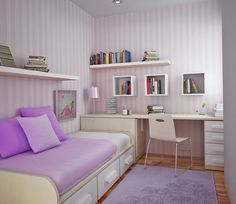 Purple-Kids-Bedroom-Furniture-for-Small-Rooms