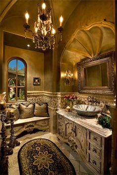 old world bathroom.