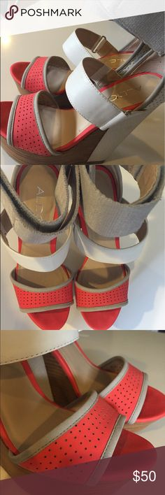 Also shoes Perfect form Summer/ spring heels- platforms- wedges Aldo Shoes Platforms