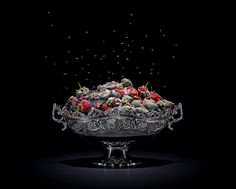 """""""One Third"""" is a still life photography series of elaborately arranged rotting food items. Austrian photographer Klaus Pichler created the series as a Still Life Photography, Food Photography, Photography Series, Digital Photography, Rotten Food, Expired Food, Growth And Decay, Texture Photography, Still Life Photos"""