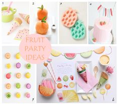 FRUIT PARTY IDEAS on Sweetly Chic Events & Design! We are longing for summer to never end so we are sharing this summery Fruit Party Inspiration board over on the blog today! Be sure to swing by to check out our top picks! #sweetlychicevents