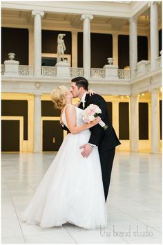 Chelsea & Brian's wedding at The Carnegie Museum