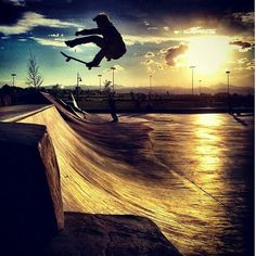 I don't Skateboard to impress people, look cool, or be stylish. I do it because its just plain awesome!