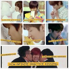 infinite ahh i just died from their cutness